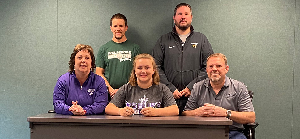 Colton joins Asbury tennis team.