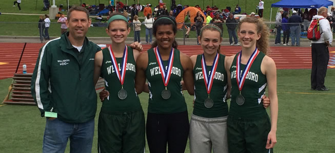 Four Lady Hornets advance to PIAA State Track Meet