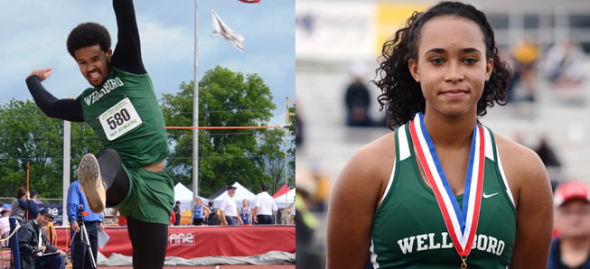 Hosey's end track season at PIAA State Championships