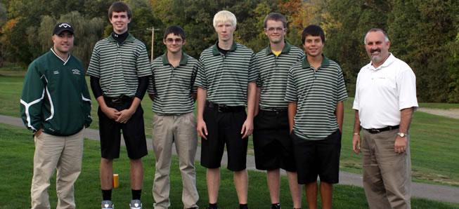 Hornet golfers claim NTL title, finish 42-0.