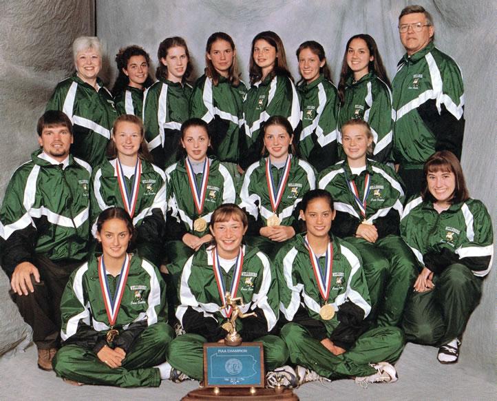 1997 Girls Cross Country Team