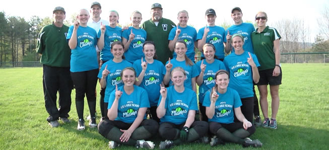 Hornet softball downs Liberty, wins NTL Division 1 title
