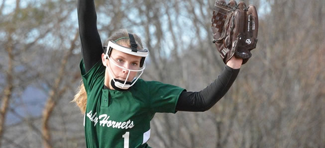 Hornet softball beat South Williamsport, 4-1