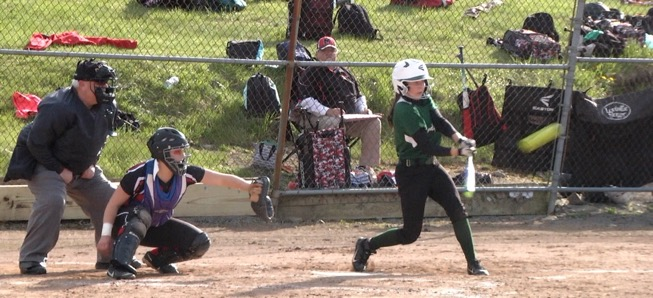 Clymer homer pushes Lady Hornets past North Penn-Liberty; claim NTL title for third straight year.