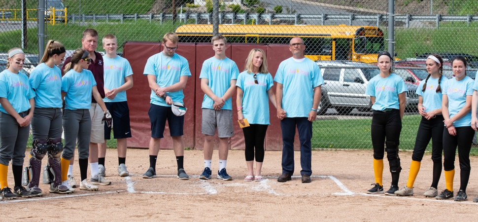 Wellsboro, Loyalsock softball playing for a cure.