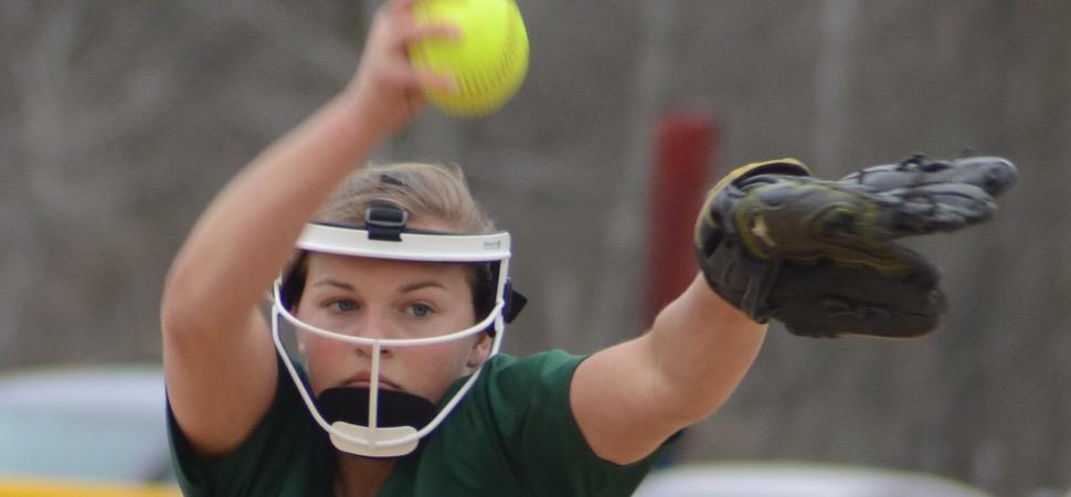 Lady Hornets shutout Sayre on Clymer's no-hitter