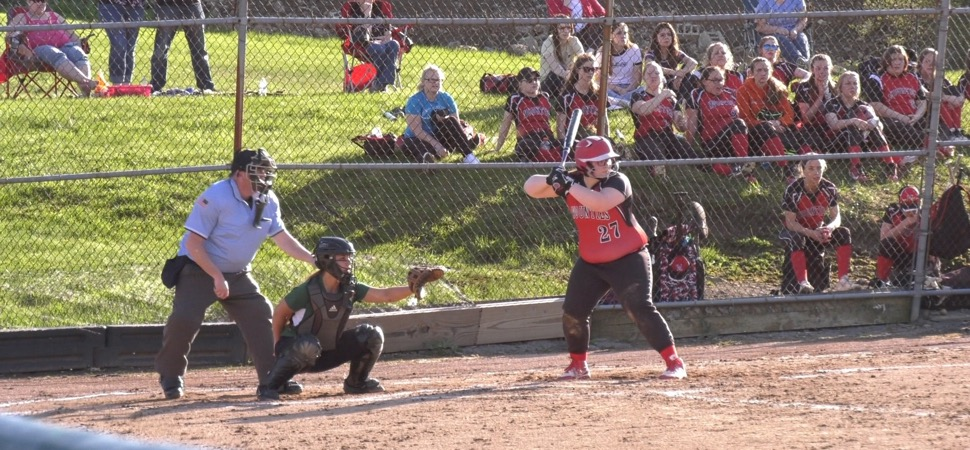Lady Hornets fall to Lady Mounties in 8 innings.