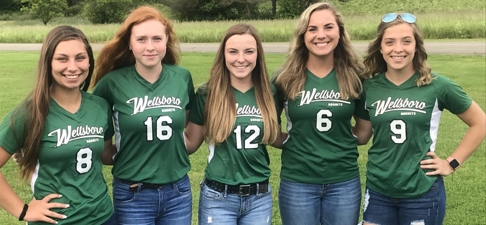 5 Lady Hornets named to NTL Softball All-Star team.