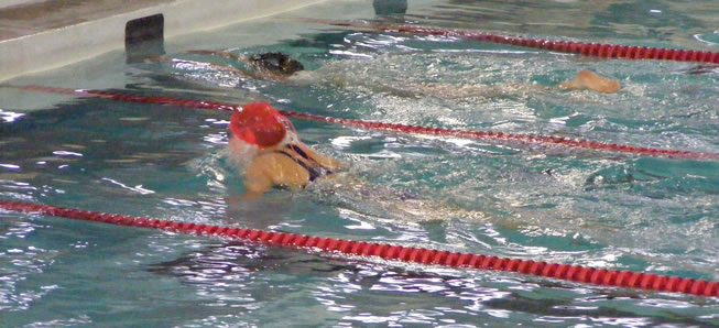 4 Hornets earn medals at District swim meet
