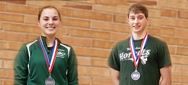 Cotner, Brought 2nd at District Championships