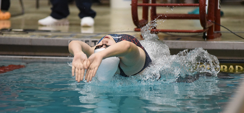 Hornet swimmers wrap up season at District Championships.