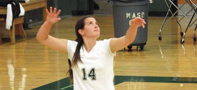Hornet Volleyball downs Canton