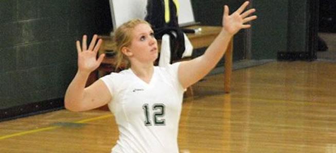Hornet Volleyball sweeps CV