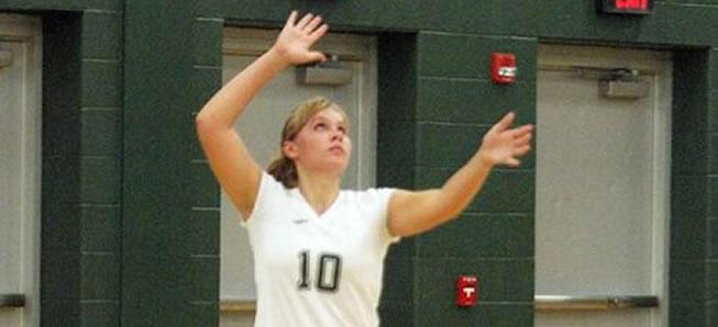 Hornet Volleyball sweeps CV, 3-0