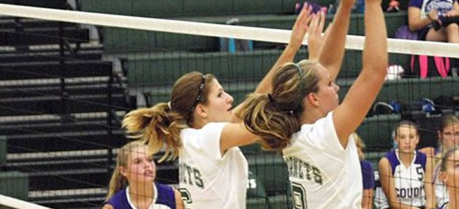Hornet volleyball falls to Troy