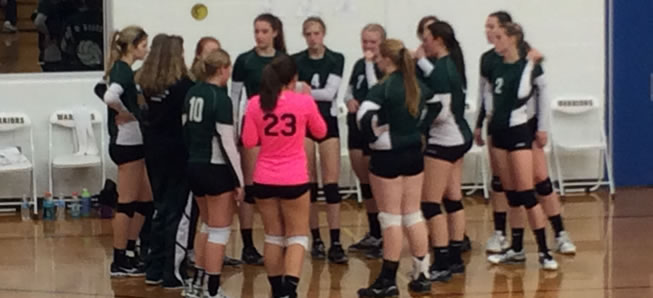 Volleyball falls to Mansfield in three