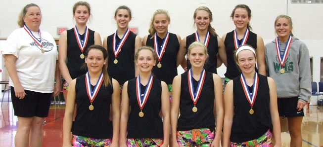 Lady Hornets capture JV volleyball title