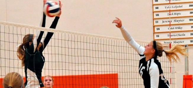 Hornet volleyball falls to Towanda