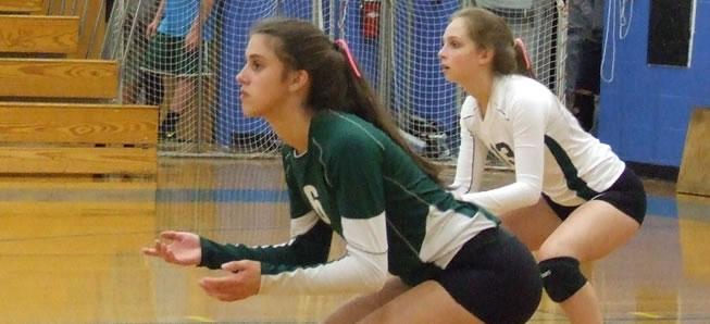 Hornet Volleyball tops CV in three