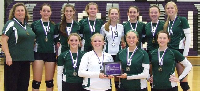 Lady Hornets win Shamokin volleyball tournament