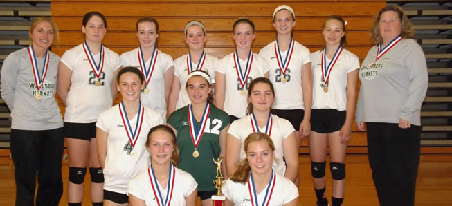 JV Volleyball wins Troy Tournament