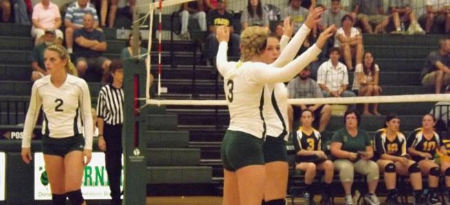 Hornet Volleyball tops Williamson, 3-1