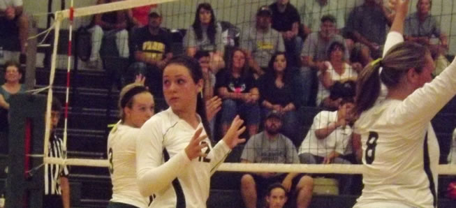 Hornet Volleyball falls to Wyalusing, 3-1