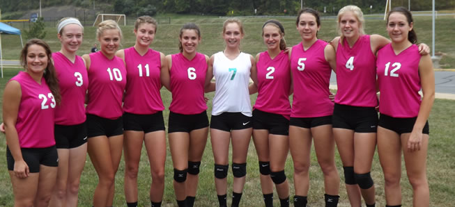 Lady Hornets third at Central Mountain Tournament