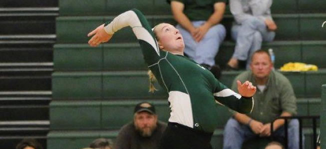 Volleyball team downs Coudy in three