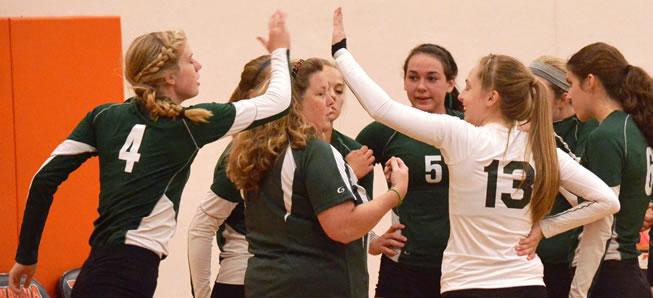 Lady Hornet Volleyball tops CV, 3-0
