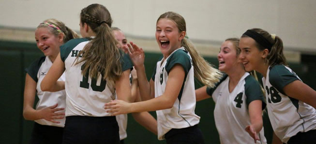 MS Volleyball tops CV in two