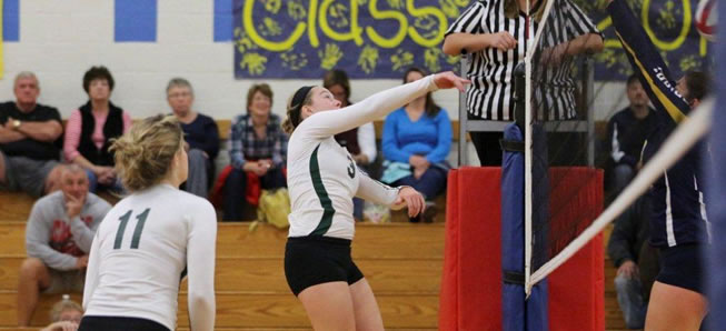 Lady Hornets top Troy in four sets