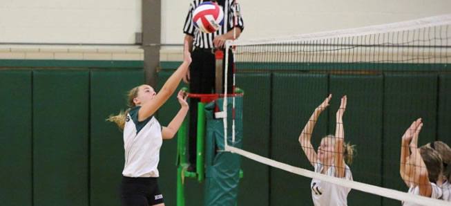 MS Volleyball tops Troy in last home match