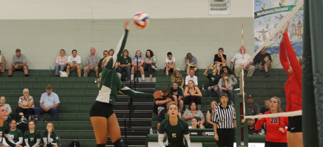 Lady Hornets top Canton in 3 sets