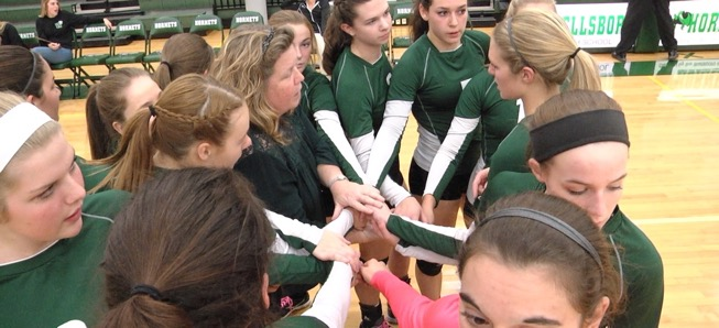 Lady Hornets fall to Coudersport on Senior Night