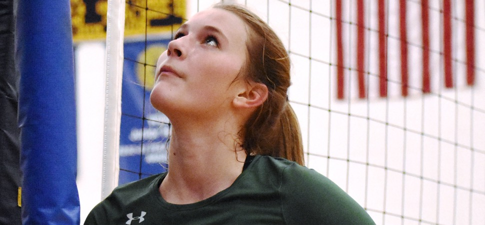 Callahan named to All-State Volleyball team