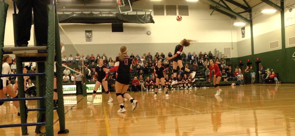 Liberty volleyball tops Wellsboro, 3-1