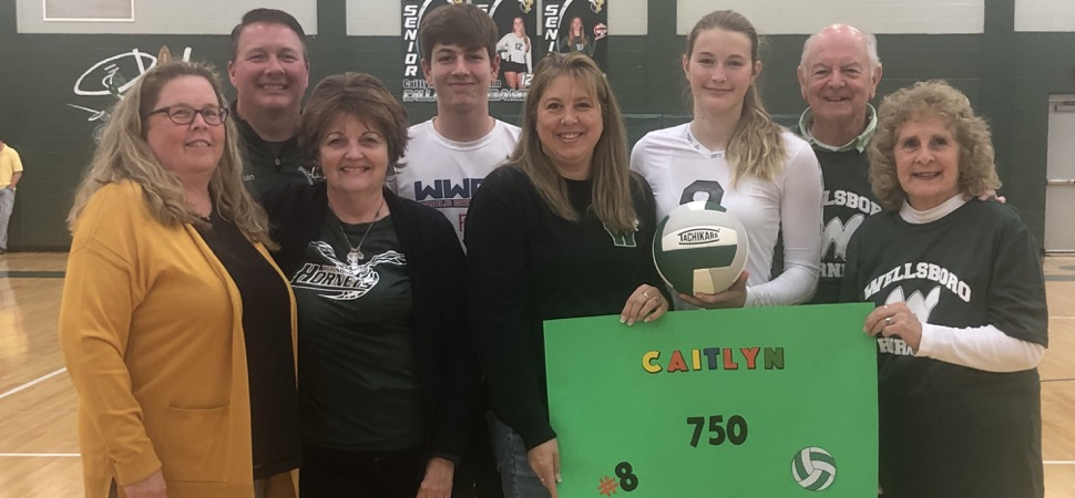 Callahan records 750th kill as Lady Hornets sweep South
