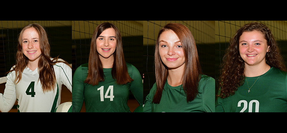 Lady Hornets named to NTL All-Star Volleyball team