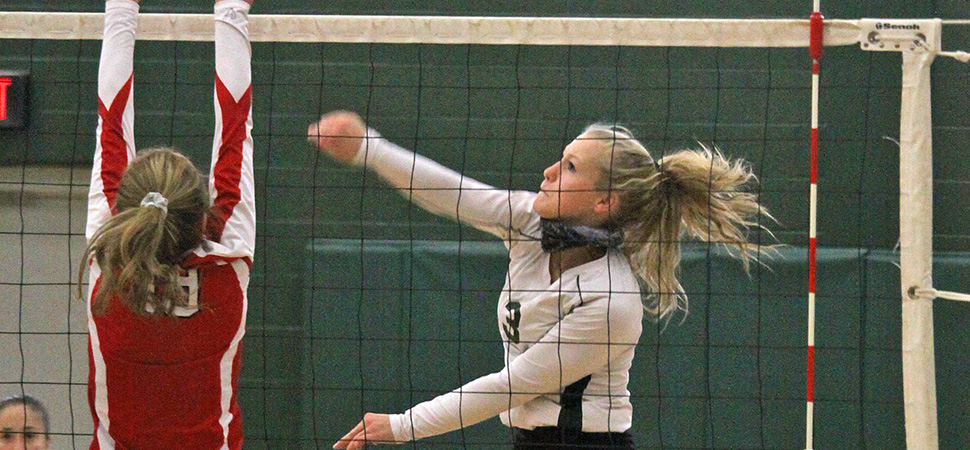 Lady Hornets sweep Troy in D4 AA Semi-Finals.