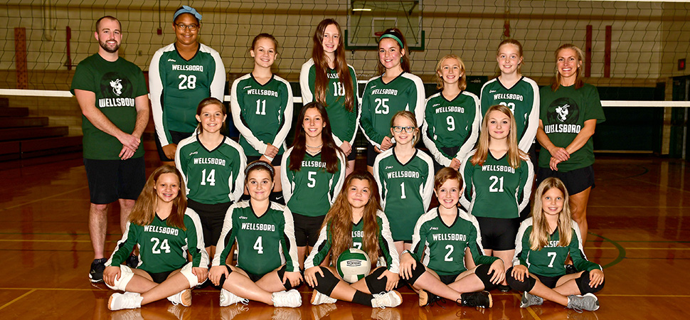 2020 Wellsboro Hornets Middle School Volleyball Roster