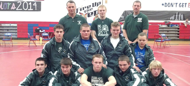 Hornet wrestlers compete at St. Marys.