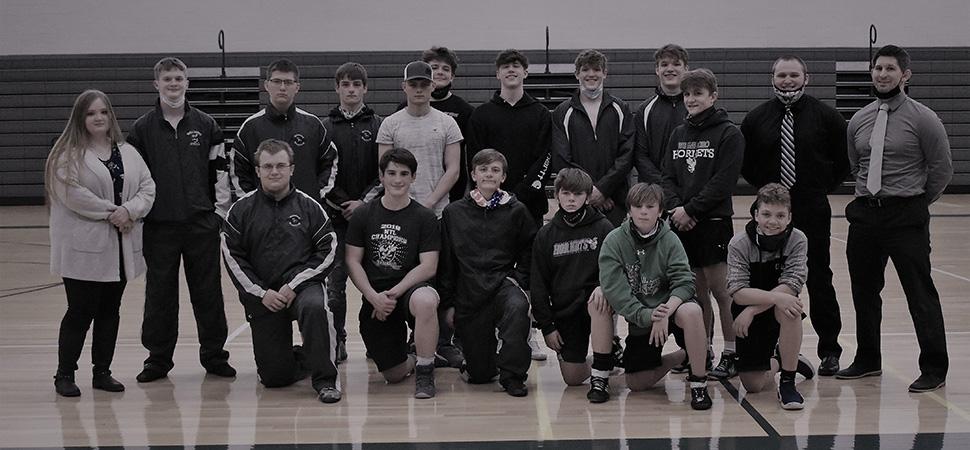 2020 Wellsboro Hornets Varsity Wrestling Roster