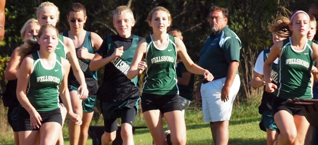 Hornet XC teams compete at NePa Invite