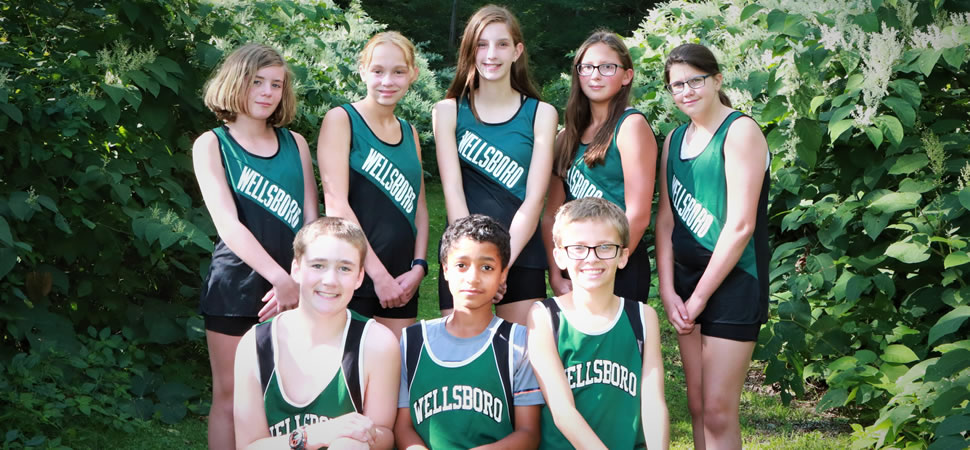 2019 Wellsboro Hornets Middle School Girls Cross Country Roster