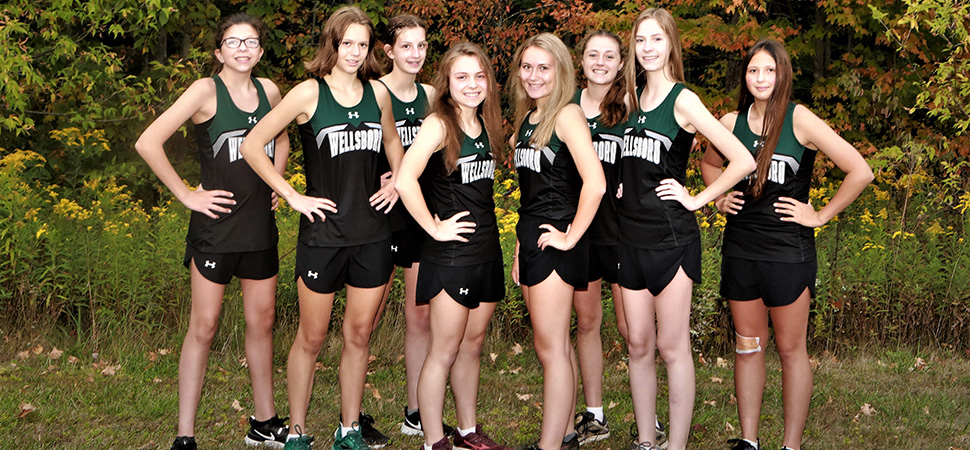 2020 Wellsboro Hornets Varsity Girls Cross Country Roster