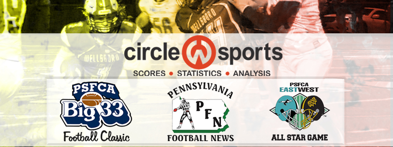 Circle W Sports and PA Football News become Official Stat Partners of Big 33 and PSFCA East/West All-Star Games