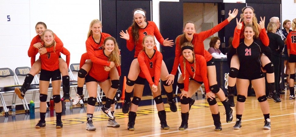 Canton wins Williamson Volleyball Tournament, Wyalusing 3rd at Pleasant Valley Tournament