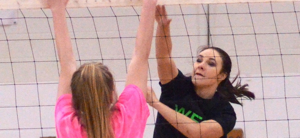 West edges East in five in senior volleyball game