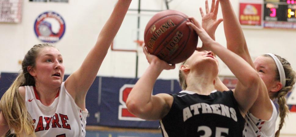 Freshmen come up big; Athens tops Sayre, 46-38, in Showdown semis